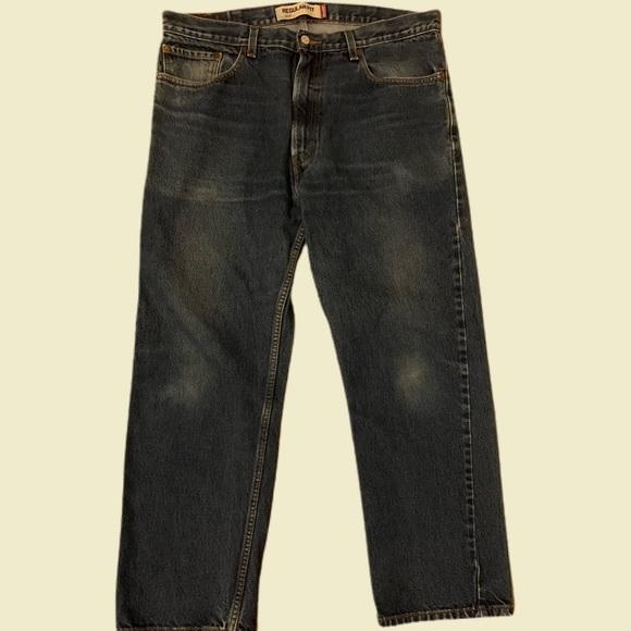 Levi's 505 Red Tab Denim Jeans Size 38 x 30 00s